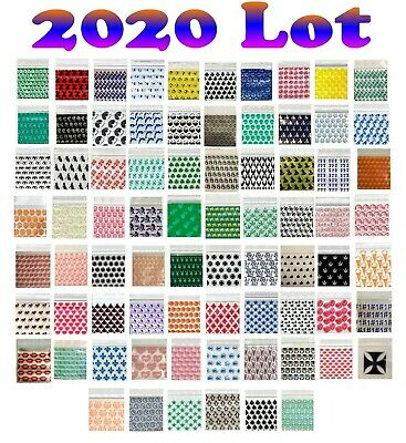 100 2020 Lot Apple Mini Ziplock Baggies 2.5 3.0mil Crowns Skulls Alien Silver