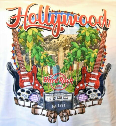 HARD ROCK CAFE HOLLYWOOD CITYWALK V17 CITY TEE T-SHIRT SIZE ADULT 3X-LARGE - NEW