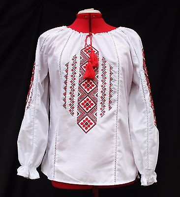 Ukrainian Embroidered boho  vyshyvanka ethnic traditional sorochka shirt blouse