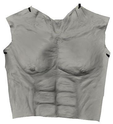 Werwolf Brust Latex Grau Erwachsene Kostüm Halloween Verkleidung Distortions