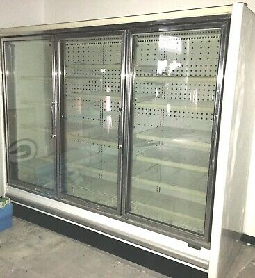 Freezer 98 Wide Display 3 Glass Doors Comes With Remote Compressor