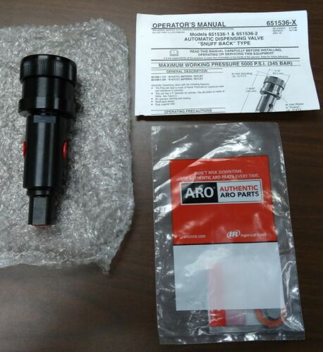 "ARO Automatic Dispensing Valve ""Snuff Back"" Type"