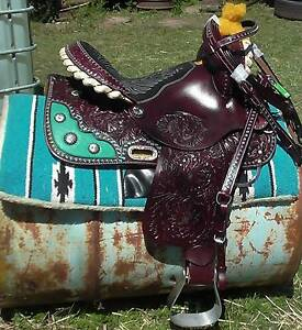 5 SADDLES PRICED DROPPED FOR XMAS LAYBY 14/15IN SEATNEW FROM USA North Maclean Logan Area Preview