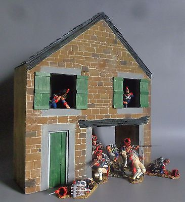 Barn Facade 1/30 60mm Toy Soldiers (Ideal for King & Country, Britains) Diorama