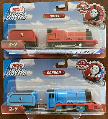 Set Of 2 Thomas & Friends TrackMaster Motorized Gordon & James Trains Engines