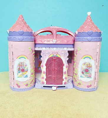 My Little Pony Crystal Rainbow Castle Pop Up Palace House Lot 10 Ponies
