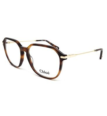 CHLOE Eyeglasses CE2725 218 Havana Rectangle Women 55x16x140