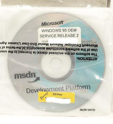 MSDN Microsoft  Windows 95 Service Release, Office 2000 Beta 2, Multi (2000 Service Release)