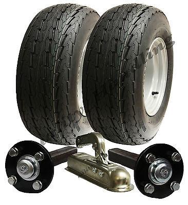High speed trailer kit 20.5 x 8-10 road legal wheels + hub & stub axle, hitch