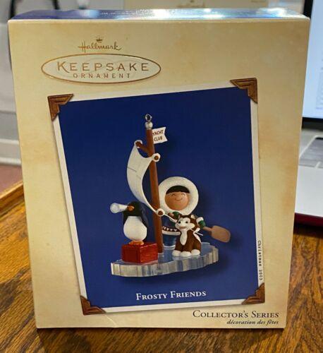 "2003 Hallmark Ornament ""Frosty Friends"" Yacht Club #24 in the series"