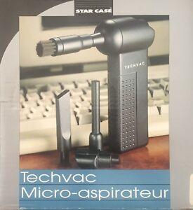 Brand New Star Case Techvac Micro-Aspirateur