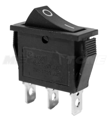 NEW SPDT ON-ON Rocker Switch w/Black Actuator KCD3 20A/125VAC - USA SELLER!!!