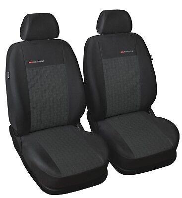 Schwarze Velours Sitzbezug für HYUNDAI I20 Fahrer Sitzbezug