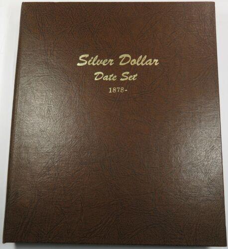 Dansco Album 7172 Silver Dollar Date Set 1878-1978 Coin Book Item #26164T