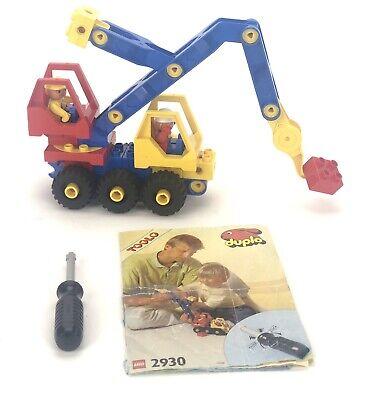 LEGO Duplo: Toolo: Mobile Crane (Crane Truck) 2930 - (1992) Rare Retired