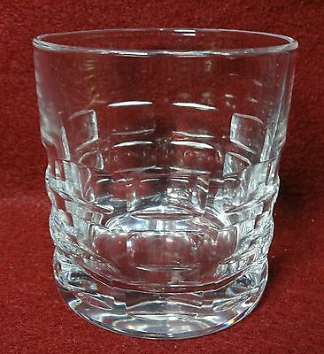 HADELAND of Norway crystal OSLO pattern Old Fashioned Tumbler - 2-3/4