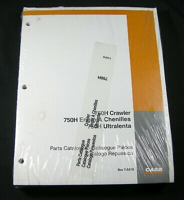 Case 750h Crawler Bulldozer Dozer Parts Manual Catalog Book List 750 H 7-5510