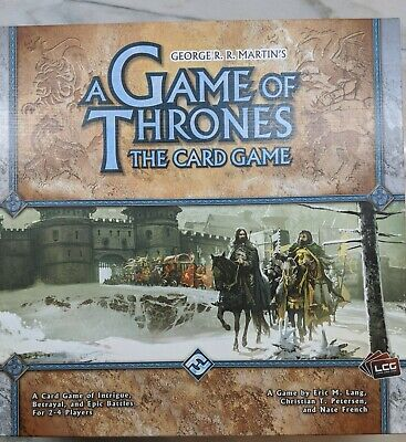 OUT OF PRINT - A Game of Thrones Card Game: Core Set (OPENED BUT NEVER USED)