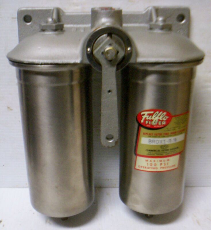 Commercial Filters - Dual Fulflo Filter Assembly for Waukesha - P/N: 701133(NOS)