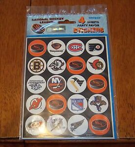 NHL-stickers-4-sheets-unopened-package