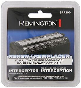 Remington SPF-300 Screens and Cutters for Shavers F4900 F5800 and F7800 Silver
