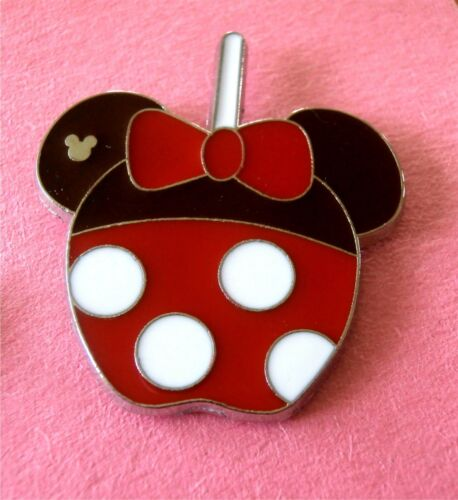 Minnie Mouse Character Candy Apples Disney Lapel Pin