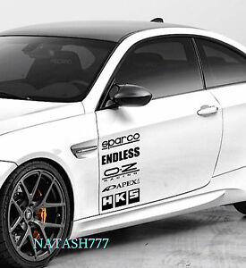 BMW M3 M5 M6 Racing Sponsors sport car sticker emblem logo