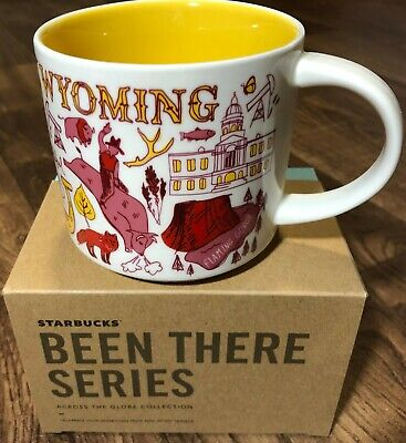 Starbucks - Across the Globe - Been There Series 14oz. Mug WYOMING - NEW!