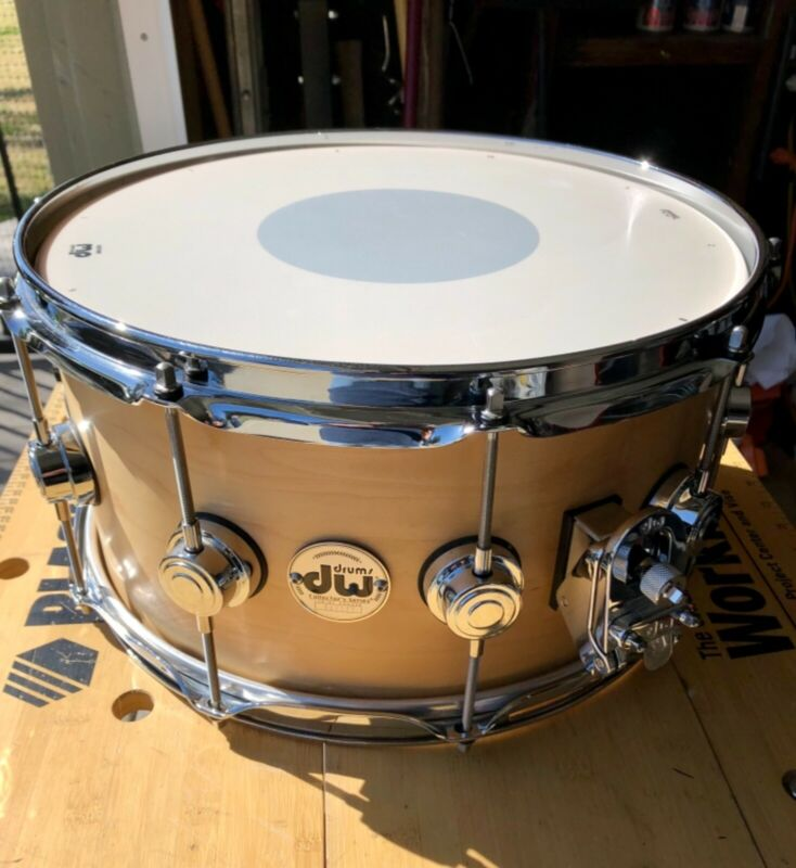 DW Collector's Series Natural Maple Snare 7x14