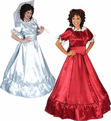 Classic Southern Belle Victorian Reenactment Cosplay Dress Women Adult Costume