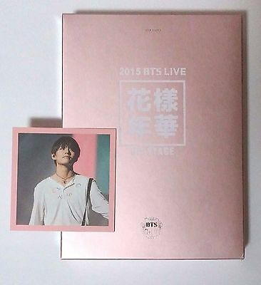 2015 BTS LIVE - In The Mood For Love ON STAGE DVD, DVD + PhotoBook + V PhotoCard