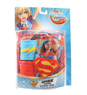 DC Super Hero Girls Superheldinnen Kostüm Superman Mädchen  (Super Hero Kostüme)