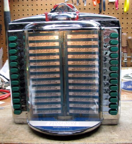 WURLITZER JUKEBOX WALLBOX 5205 – RESTORED and RECHROMED  - Stock #5378