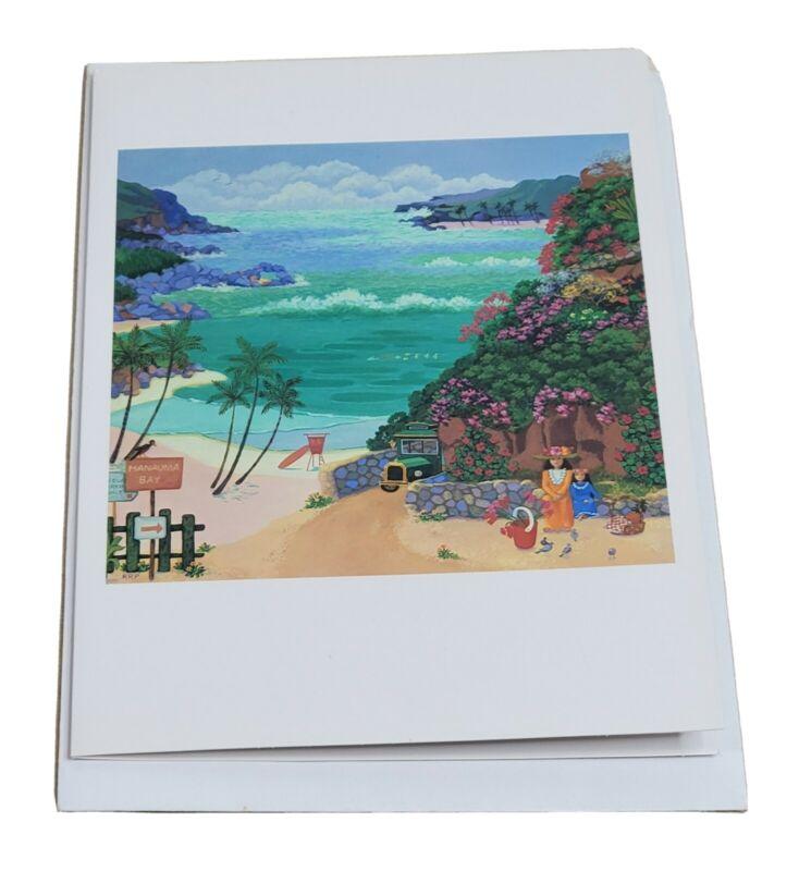 Hawaii Greeting Card All Occasion Hanauma Bay 1 Count By Rosalie Rupp Honolulu
