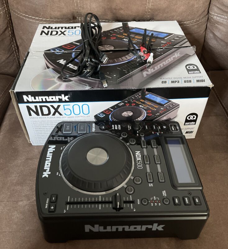 Numark NDX 500 NDX500 Media Player Controller - Lightly Used - Comes As Shown