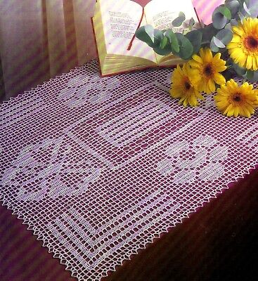 Шаблоны PRETTY Madrigal Doily/Crochet Pattern INSTRUCTIONS