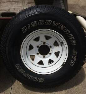 Cooper Discoverer ATR Tyres and Sunraysia 6 stud Rims For Sale