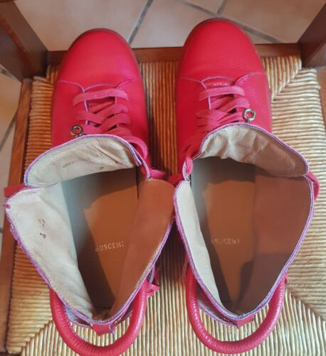 Sneakers buscemi rouge /43