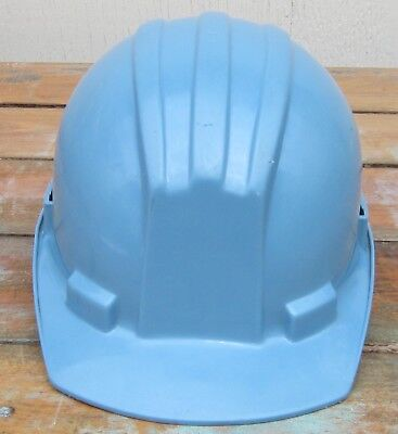 Bullard Hard Boiled Hard Hat Ironworker Construction Safety Blue 5100 Noble Cap