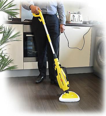 Wolf 1500 watt Super H2OT 10 in 1 Steamer Floor Carpet Steam Cleaner Hand Held