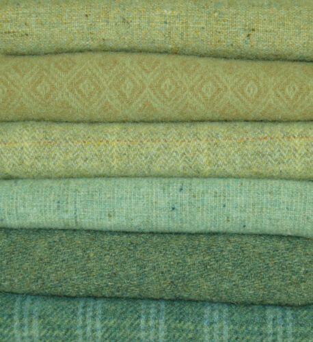 """HAND DYED RUG HOOKING WOOL Mill-Dyed ~ """"SAVANNAH TIDE"""""""