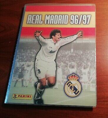 ALBUM REAL MADRID 96/97 COLECCIÓN COMPLETA TRADING CARDS