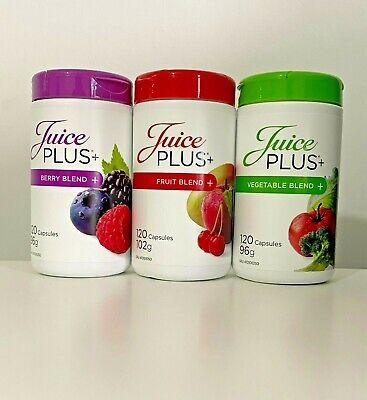 Juice Plus+ 3 x 120 Premium Capsules - Berry, Fruit & Vegetable...