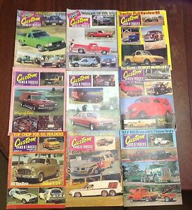 Custom Vans&Trucks,Supercar,Street&Custom,CustomRodder retro mags Carseldine Brisbane North East Preview