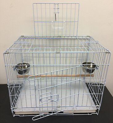 """Collapsable Bird, Dog and Cat Carrier Travel Cage 19""""x12""""x16"""