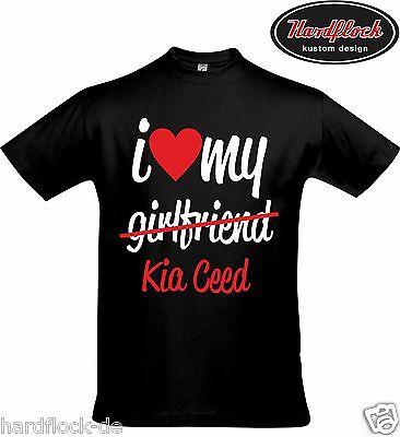 Freund Lustige T-shirt (T-Shirt Kia Ceed gt sw jd tuning ed lustig geschenk fun liebe Weihnachten Freund)