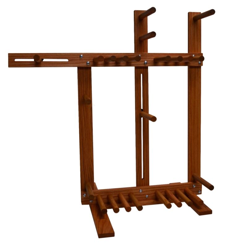 Large Inkle Loom for Belt Tablet and Card Weaving, Handcrafted from Oak