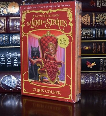 Land of Stories by Chris Colfer Mother Goose Red Hood New Sealed Box Gift Set