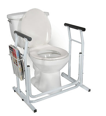 Drive Toilet Safety Rail Frame Bar Support Bathroom Stand...