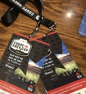 2 Grey Cup Tickets on the Goal Line - Below Face Value